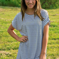 PIKO: Short Sleeve ~ Stripe