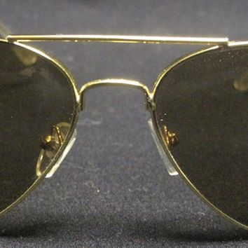 Cheap Authentic Ray-Ban Aviator Gold/Polarized Brown Gradient RB 3025 001/M2 with Case outlet