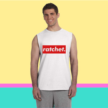 ratchet Sleeveless T-shirt