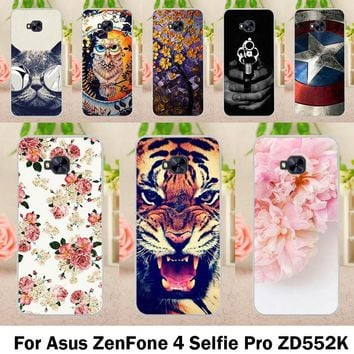TAOYUNXI Smartphone Cases For Asus Zenfone 4 Selfie Pro ZD552KL 5.5 inch 154 x 74.8 x 7 mm Case Cover Skin Sheath Hood Bags