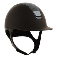 Samshield Shadow Matt® Top Crystal Fabric Helmet | Dover Saddlery