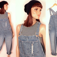 90s silvertab overalls // tapered leg