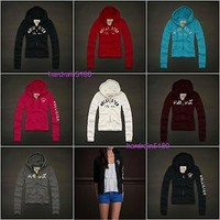 2012 NWT Hollister by Abercrombie Women's Woods Cove Hoodie