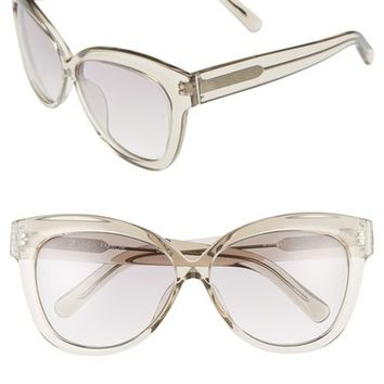 Linda Farrow 60mm Cat Eye Sunglasses | Nordstrom