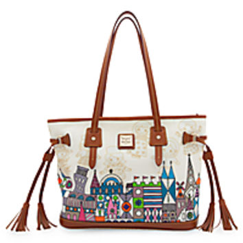 ''it's a small world'' Tassel Bag by Dooney & Bourke