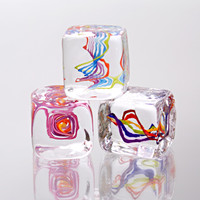 Squarbles by Nicholas Kekic: Art Glass Paperweights | Artful Home