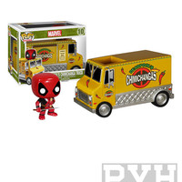 Funko Pop! Rides: Marvel - Deadpool's Chimichanga Truck