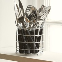 16-Piece Utensil Set + Caddy - Urban Outfitters