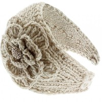 NY Deal Knit Winter Headband Ear Warmer, 18-Ivory