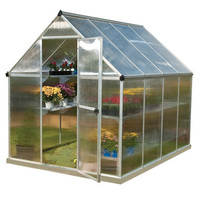 Mythos 6 Foot Hobby Greenhouse