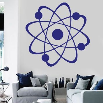 Large Vinyl Decal Image Micro Particles Molecule Atoms Wall Sticker (n575)