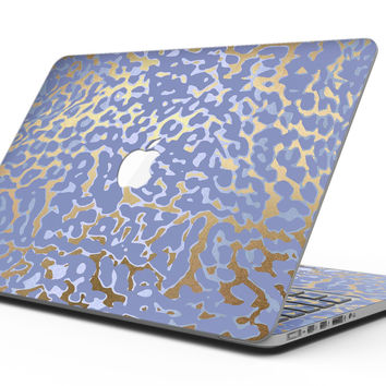 Gold Flaked Animal Purple - MacBook Pro with Retina Display Full-Coverage Skin Kit