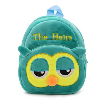 Panda Cat The Heirs Bear Duck Bags Cartoon Kids Plush Backpacks Plush schoolbag  Children School Bags Girls Boys Backpack