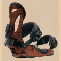 Asadachi III 'Good Wood' Snowboard Bindings | SportsVibe
