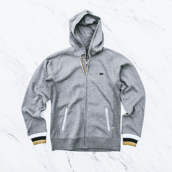 BAU Training Day Zip Hoodie - Grey
