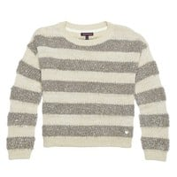Metallic Stripe Pullover by Juicy Couture