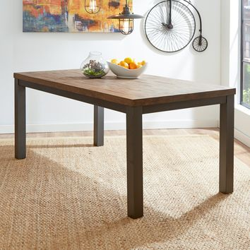 Modern Rustic Handcrafted Dining Table