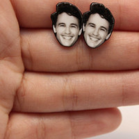 James Franco  :  Stud Earrings