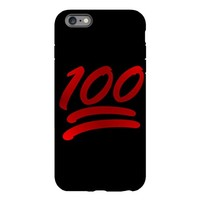 one hundred emoji iPhone Plus 6 Tough Case