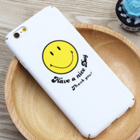 White smile blessing for iPhone 6 6S 6plus 6Splus 1108TB-ZM