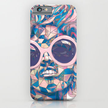Pastel Light Four Eyes iPhone & iPod Case by Ben Geiger