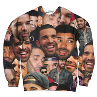 Drake Collage Sweatshirt
