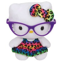 TY Sanrio Hello Kitty Beanie Babies Stuffed Plush Toy : Fashionista $6.99