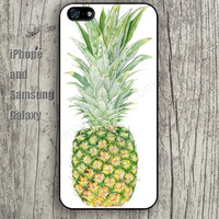 Ripe pineapple iphone 6 6 plus iPhone 5 5S 5C case Samsung S3,S4,S5 case Ipod Silicone plastic Phone cover Waterproof