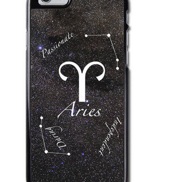 Aries Zodiac Sign iPhone Case Cover
