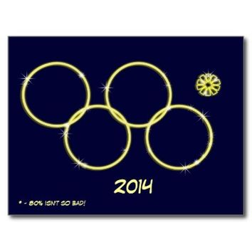 The Fifth missing ring Sochi 2014 #sochiproblems