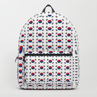 flag of south korea-korea,asia, 서울특별시,부산광역시, 한국,seoul Backpack by oldking