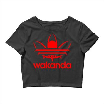 wakanda Crop Top