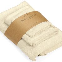 Pure Fiber Bamboo Viscose Towel Set