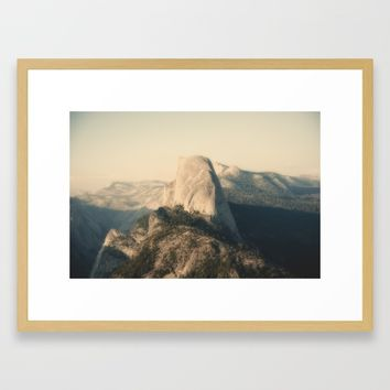 Half Dome IX Framed Art Print by Hraun Photography