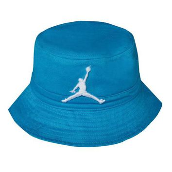 d7c20ceb81bd5 Perfect Jordan Women Men Embroidery Sun Visor Bucket Hat Fashion Hat Cap