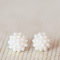 pretty pearls studded earrings at ShopRuche.com