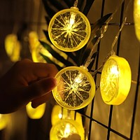 3M 20LED Lemon Light Lamp Party Bedroom Decor Light