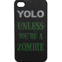 YOLO Zombie Lenticular iPhone Case
