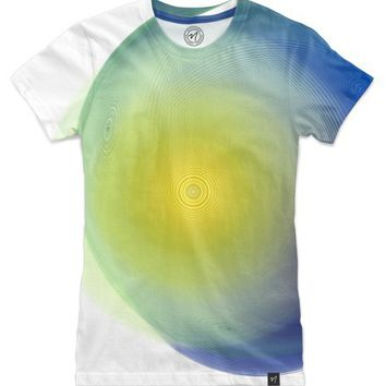 Grace Frequency Nebula Women's Classic Tee by Mila Tovar | Nuvango