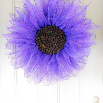 Shop Deco Mesh Sunflower Wreath on Wanelo Bedroom Decorating Ideas Sunflower And Lilac on lilac color, lilac drawing ideas, lilac nursery ideas, zebra themed bedroom ideas, butterfly table decoration ideas, lilac room ideas, lilac centerpieces, lilac paint ideas, lilac fabric, desk layout ideas, lilac walls, lilac weddings, purple room ideas, lilac bathroom ideas, hutch makeover ideas, lilac baby shower, lilac bedroom ideas, lilac garden ideas, lilac cakes, lilac living room,
