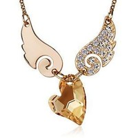 Eros Pendant Necklace with Swarovski Crystal for Women