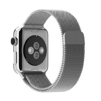MyCell 42mm Metal Loop Stainless Steel Mesh Replacement Band for Apple Watch