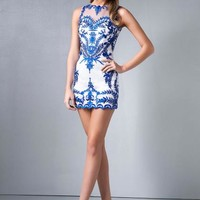 Splash Homecoming Dress E451