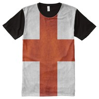 England flag All-Over-Print shirt