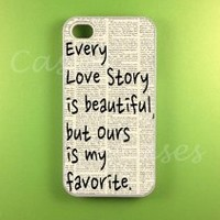Amazon.com: Iphone 4s Case - Our Story Iphone Case, Iphone 4 Case: Cell Phones & Accessories