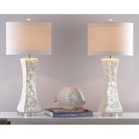 "Shelley Concave 30.5"" Table Lamp"