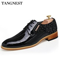 Tangnest Brand Men's Formal Dress Pointed Toe Business Shoes