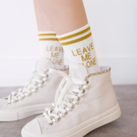 2017 new women trend letters in the tube cotton socks two bars silver onion popular women socks cotton socks