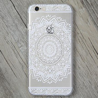 Lace Flower Cover Case for iPhone 5s 5se 6 6s Plus Gift + Gift Box