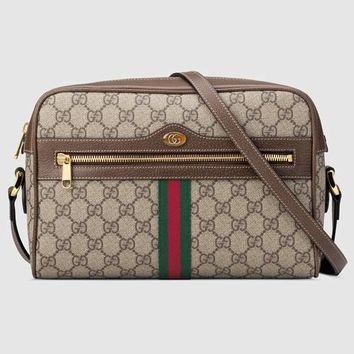 Gucci Ophidia GG Supreme small shoulder bag